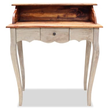 "vidaXL Writing Desk Solid Reclaimed Wood 31.5""x15.7""x36.2""[2/5]"