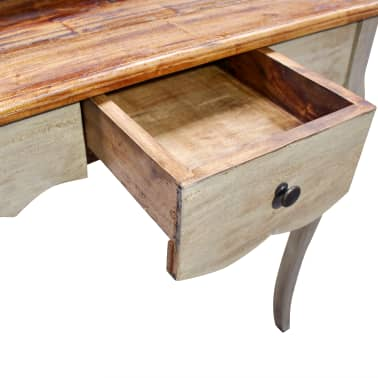 "vidaXL Writing Desk Solid Reclaimed Wood 31.5""x15.7""x36.2""[4/5]"