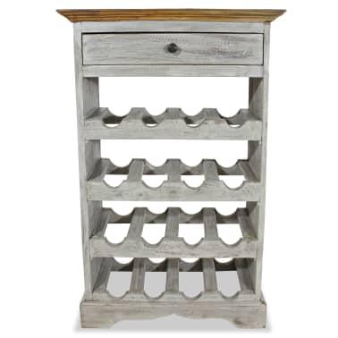 vidaXL Weinregal Recyceltes Massivholz 55 x 23 x 85 cm[2/3]
