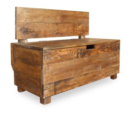 vidaXL Klupa Masivno Obnovljeno Drvo 86x40x60 cm[2/11]