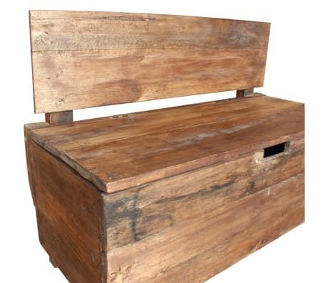 "vidaXL Bench Solid Reclaimed Wood 33.9""x15.7""x23.6""[6/11]"