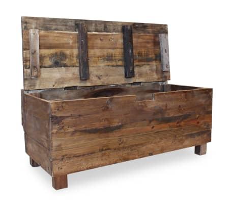 "vidaXL Bench Solid Reclaimed Wood 33.9""x15.7""x23.6""[8/11]"