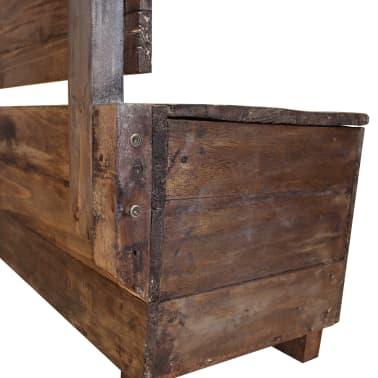 "vidaXL Bench Solid Reclaimed Wood 33.9""x15.7""x23.6""[9/11]"