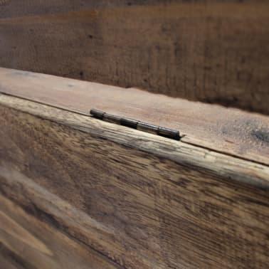 "vidaXL Bench Solid Reclaimed Wood 33.9""x15.7""x23.6""[10/11]"