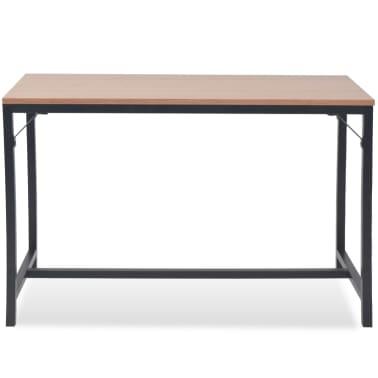 vidaXL Konsolinis staliukas, uosis, 119x53x79cm[2/8]