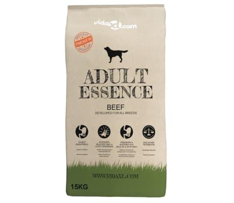 vidaXL suņu sausā barība, Adult Essence Beef, Premium, 15 kg[2/9]