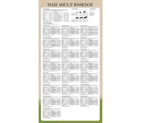 vidaXL Premium hondenvoer droog Maxi Adult Essence Beef & Chicken 15 kg[7/9]