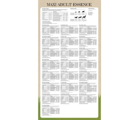 vidaXL Sucha karma dla psów Maxi Adult Essence Beef & Chicken, 15 kg[7/9]