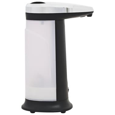 vidaXL Automat. muilo dozatoriai, 2vnt., infrar. spind. jut., 800ml[4/10]