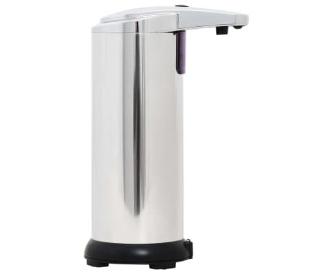 vidaXL Automat. muilo dozatoriai, 2 vnt., infrar. spind. jut., 600 ml[3/9]