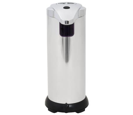 vidaXL Automat. muilo dozatoriai, 2 vnt., infrar. spind. jut., 600 ml[4/9]