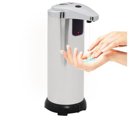 vidaXL Distributeur automatique de savon 2 pcs Capteur IR 600 ml[6/9]
