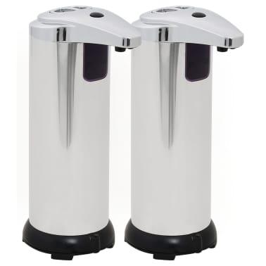 vidaXL Automatischer Seifenspender 2 Stk. Infrarot-Sensor 600 ml[2/9]
