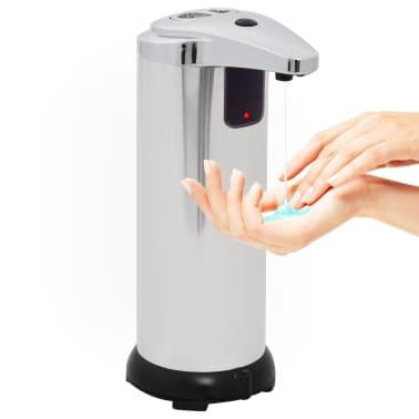 vidaXL Automatischer Seifenspender 2 Stk. Infrarot-Sensor 600 ml[6/9]
