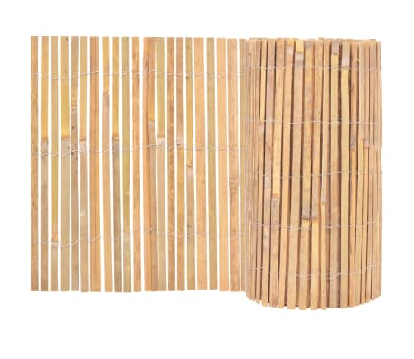 vidaXL Bamboo Fence 1000x50 cm