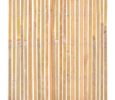 vidaXL Gartenzaun Bambus 1000×50 cm[5/6]