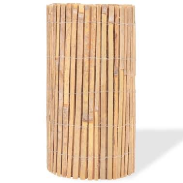 vidaXL Gartenzaun Bambus 1000×50 cm[3/6]