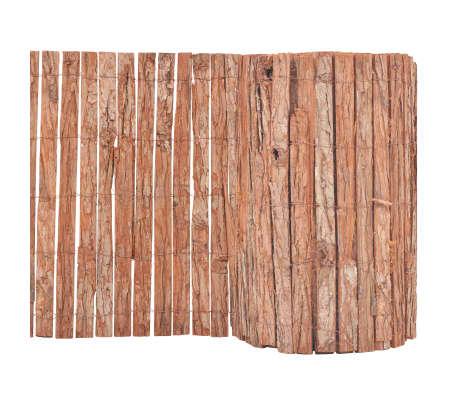 vidaXL Bordatura per Giardino in Corteccia 1000x50 cm[1/6]