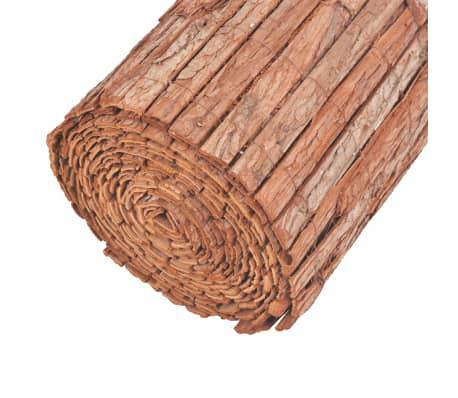 vidaXL Bordatura per Giardino in Corteccia 1000x50 cm[4/6]