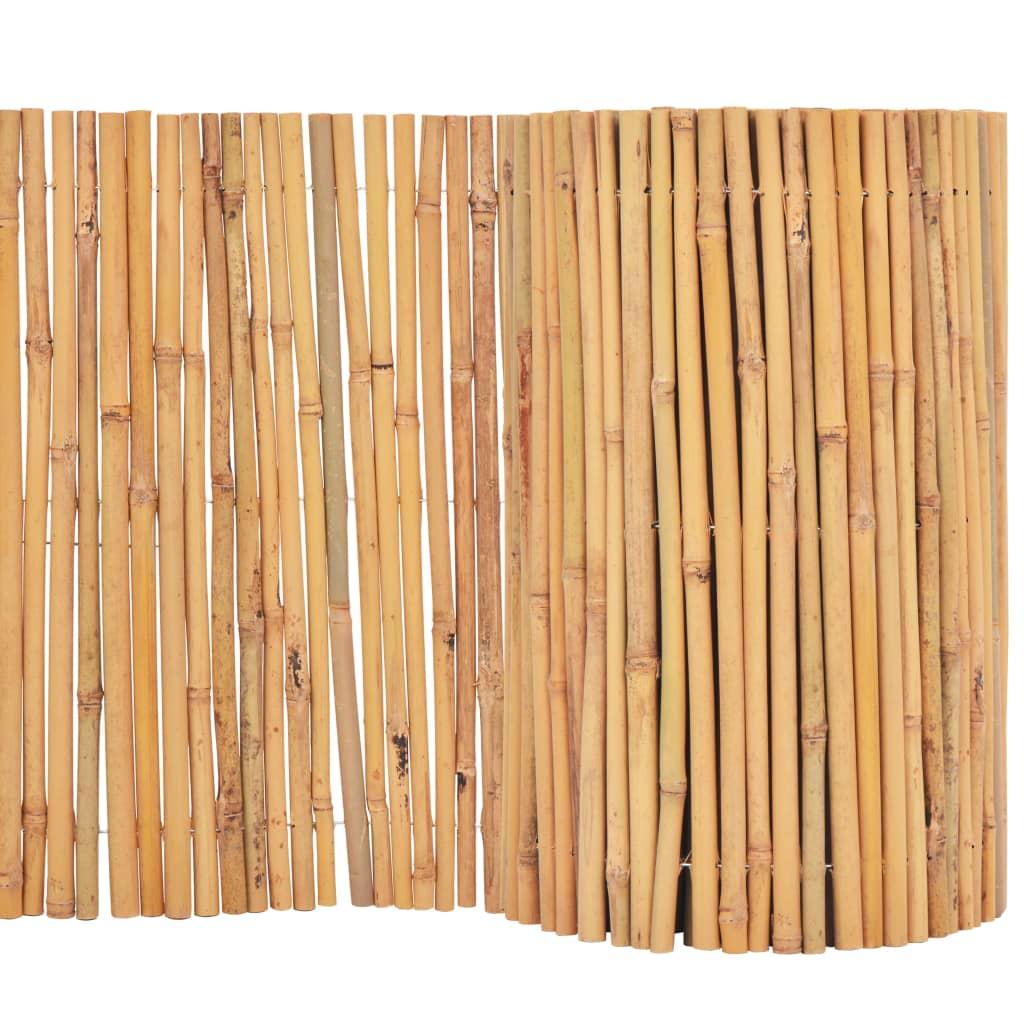 vidaXL Bambusový plot 500x50 cm