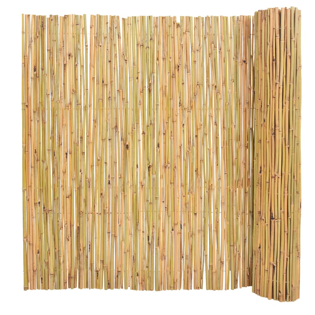 vidaXL Bambusový plot 300x150 cm