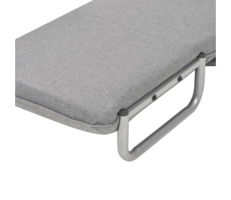 vidaXL Supamoji kėdė ir sofa-lova, šviesiai pilka, 60x75x80cm[10/13]