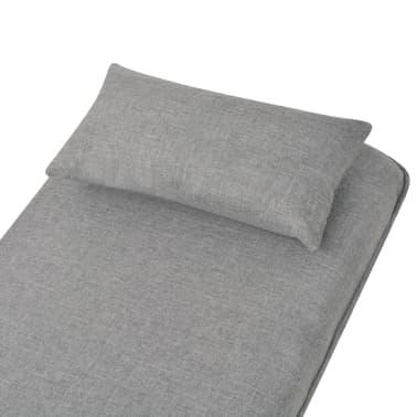 vidaXL Supamoji kėdė ir sofa-lova, šviesiai pilka, 60x75x80cm[9/13]