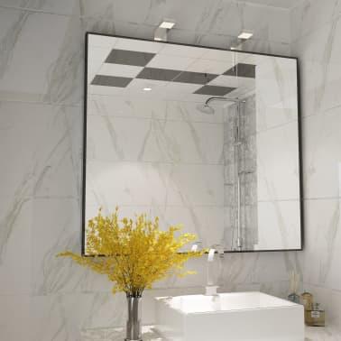 vidaXL Peilivalot 2 kpl 2 W lämmin valkoinen[7/8]