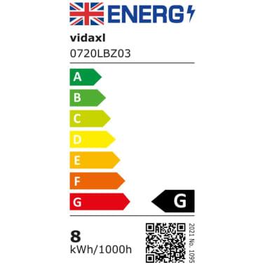 vidaXL Spiegellamp 8 W warm wit[9/10]
