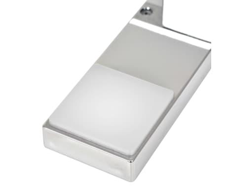vidaXL Iluminação descendente para espelho 2 pcs 2 W branco frio[6/8]