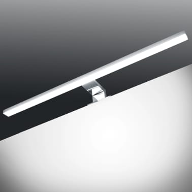 VidaXL Veidrodinis šviestuvas, 8W, šaltos baltos spalvos[1/8]