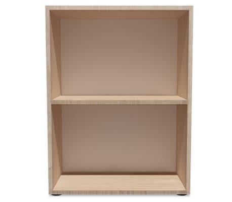vidaxl b cherregal spanplatte 60 x 31 x 78 cm eiche optik g nstig kaufen. Black Bedroom Furniture Sets. Home Design Ideas