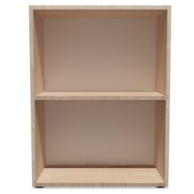 vidaXL Knygų lentyna, med. drožlių plokštė, 60x31x78 cm, ąžuolas[3/5]