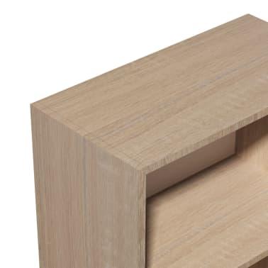 vidaXL Knygų lentyna, med. drožlių plokštė, 60x31x78 cm, ąžuolas[4/5]