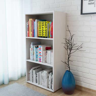 Vidaxl estanter a de madera prensada 60x31x116 5 cm blanca for Estanteria madera blanca