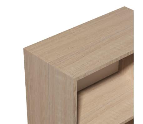 vidaXL Knygų lentyna, med. drožlių plokš., 60x31x155cm, ąžuolo mediena[4/5]