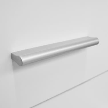 vidaXL Commode haute Aggloméré 41 x 35 x 108 cm Blanc[5/6]