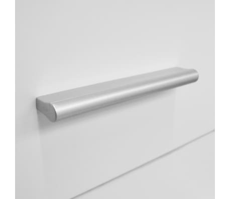 vidaXL Dulap de depozitare din PAL, 71 x 35 x 108 cm, alb[5/6]