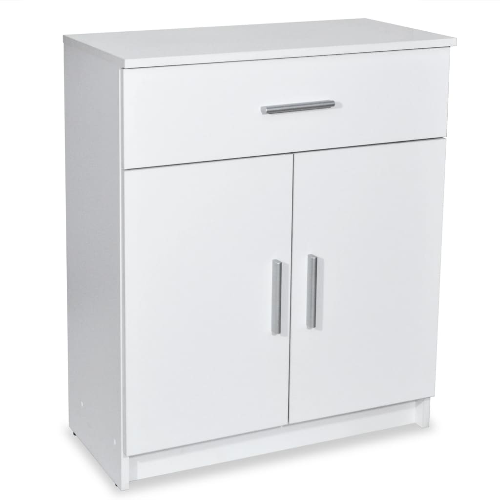 vidaXL Ντουλάπι Λευκό 71 x 35 x 88 εκ. από Μοριοσανίδα