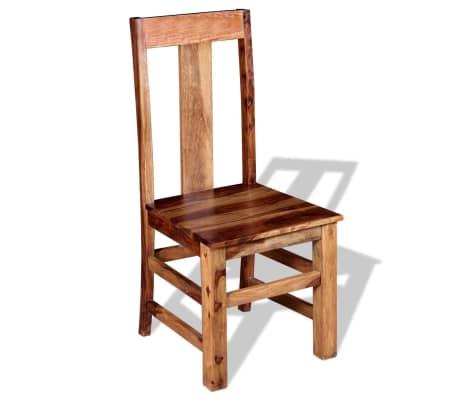 vidaxl esszimmerst hle 4 stk sheesham holz massiv g nstig kaufen. Black Bedroom Furniture Sets. Home Design Ideas