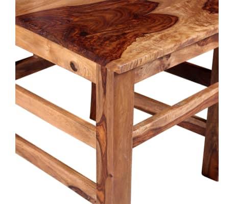 vidaXL Krzesła do jadalni z drewna sheesham, 4 szt.[10/11]
