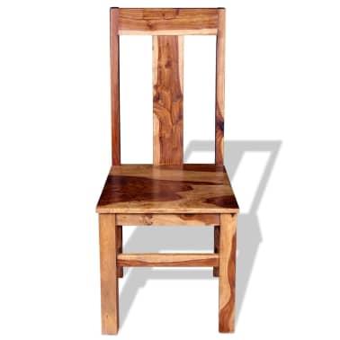 vidaXL Krzesła do jadalni z drewna sheesham, 4 szt.[7/11]