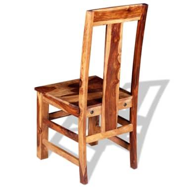 vidaXL Krzesła do jadalni z drewna sheesham, 4 szt.[8/11]