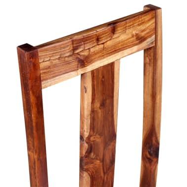 vidaXL Krzesła do jadalni z drewna sheesham, 4 szt.[9/11]