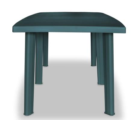 vidaXL Table de jardin 210 x 96 x 72 cm Plastique Vert | vidaXL.ch