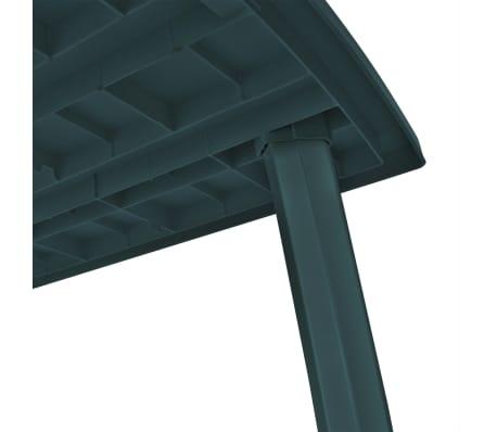Tavolo Giardino Plastica Verde.Vidaxl Tavolo Da Giardino 210x96x72 Cm In Plastica Verde Vidaxl It