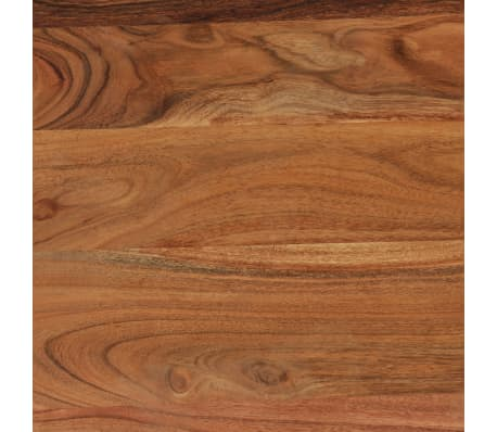 vidaXL Kavos staliukas, medienos masyvas, 88x50x38cm[6/12]