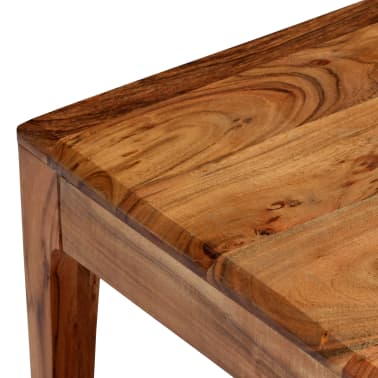 vidaXL Kavos staliukas, medienos masyvas, 88x50x38cm[4/12]
