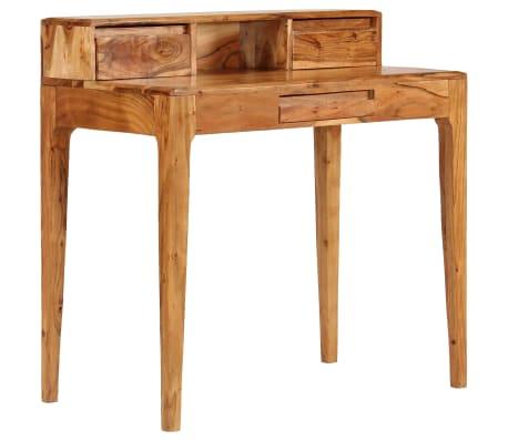 vidaXL Rašomasis stalas su stalčiais, mediena, 88x50x90cm[1/13]