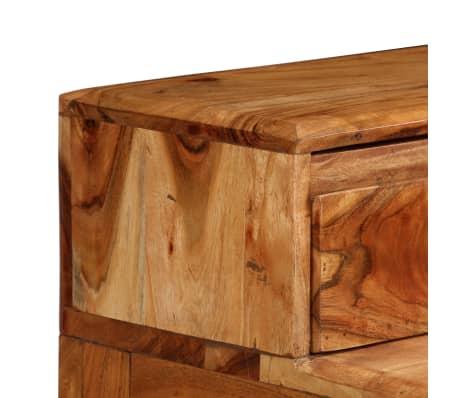 vidaXL Rašomasis stalas su stalčiais, mediena, 88x50x90cm[5/13]